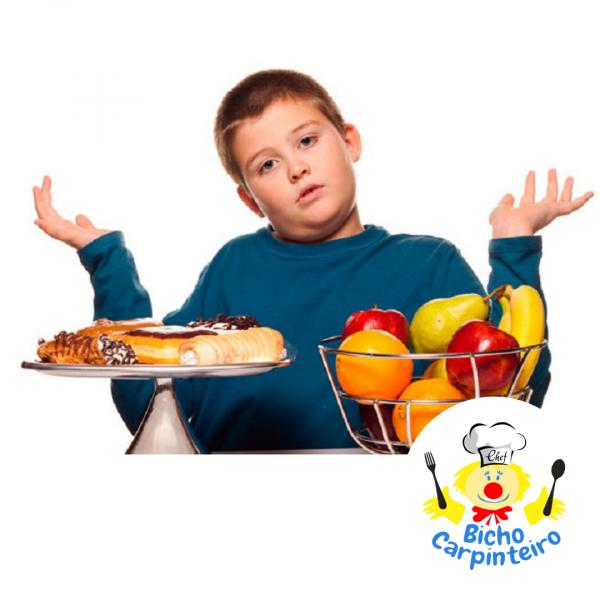 O que seus filhos estão comendo?